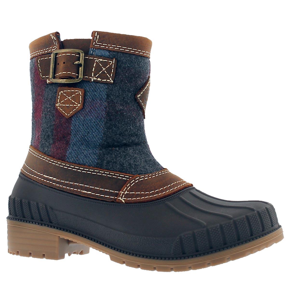Lds Avelle dk brn waterproof winter boot