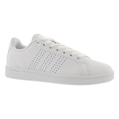 Adidas Women's CLOUDFOAM ADVANTAGE CLEAN wht/wht sneakers