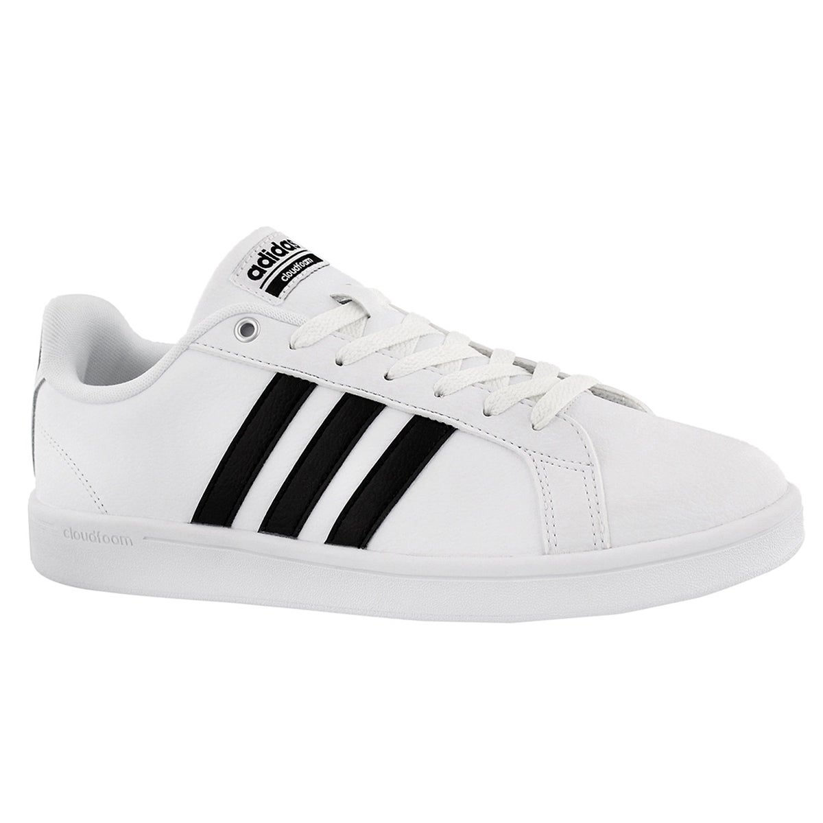 Men's CLOUDFOAM ADVANTAGE wht/blk sneakers