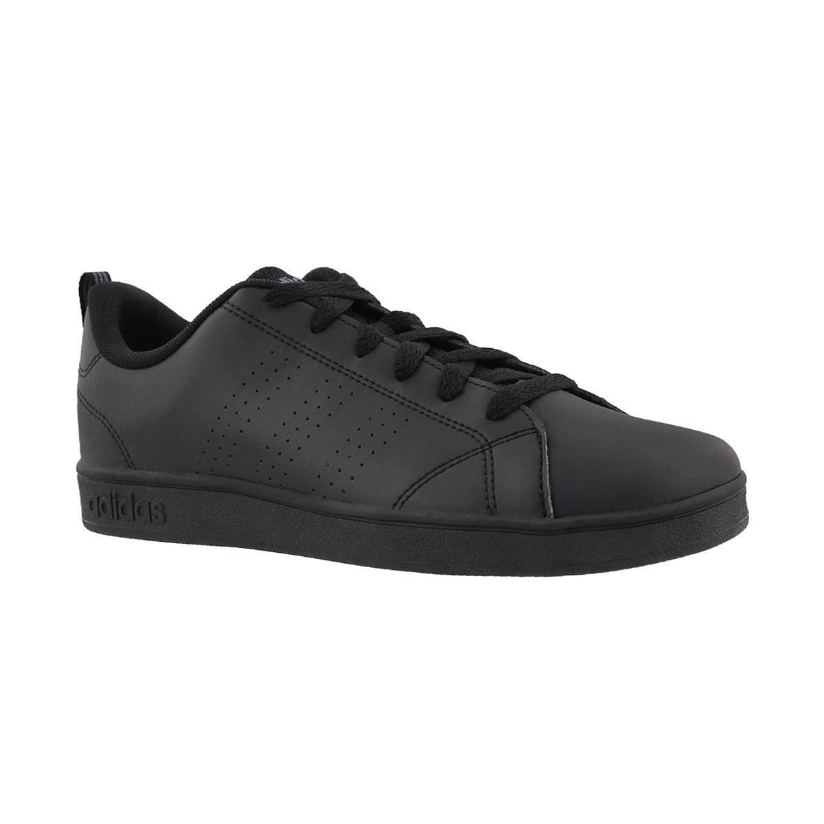 Kids' ADVANTAGE CLEAN black sneakers