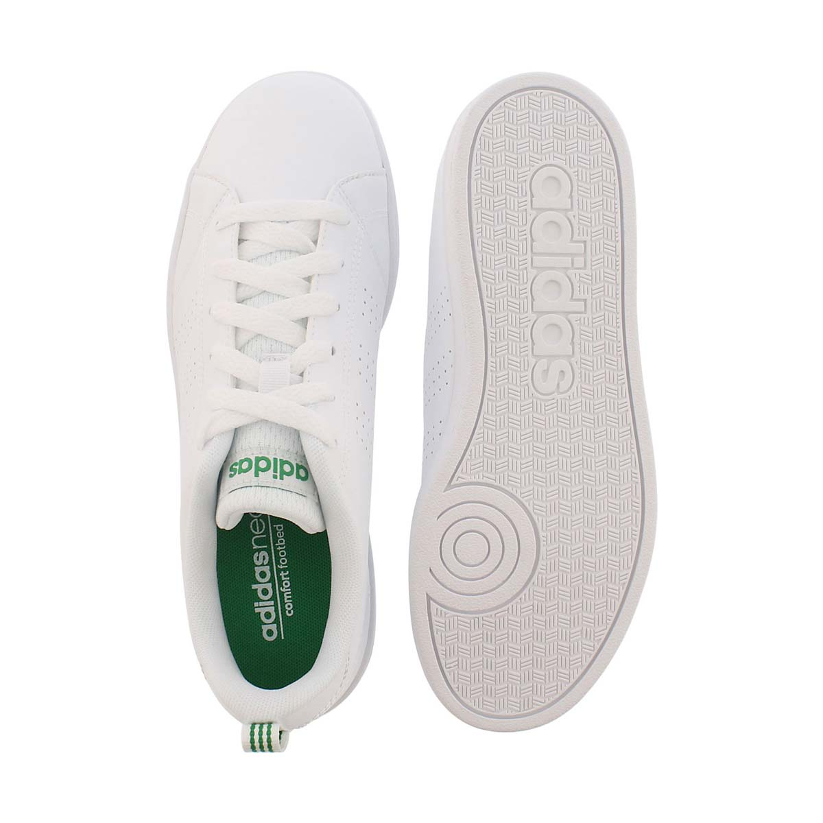 Chlds Advantage Clean white sneaker