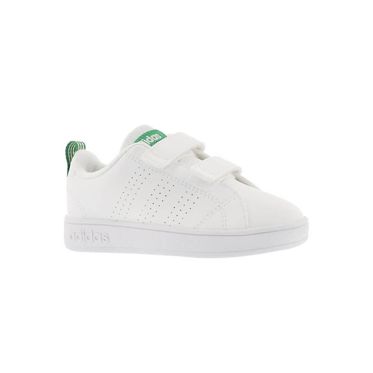 Infants' ADVANTAGE CLEAN CMF white/green sneakers