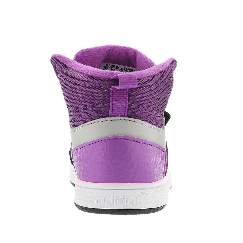 Espadrille Hoops Mid, noir/violet, fille