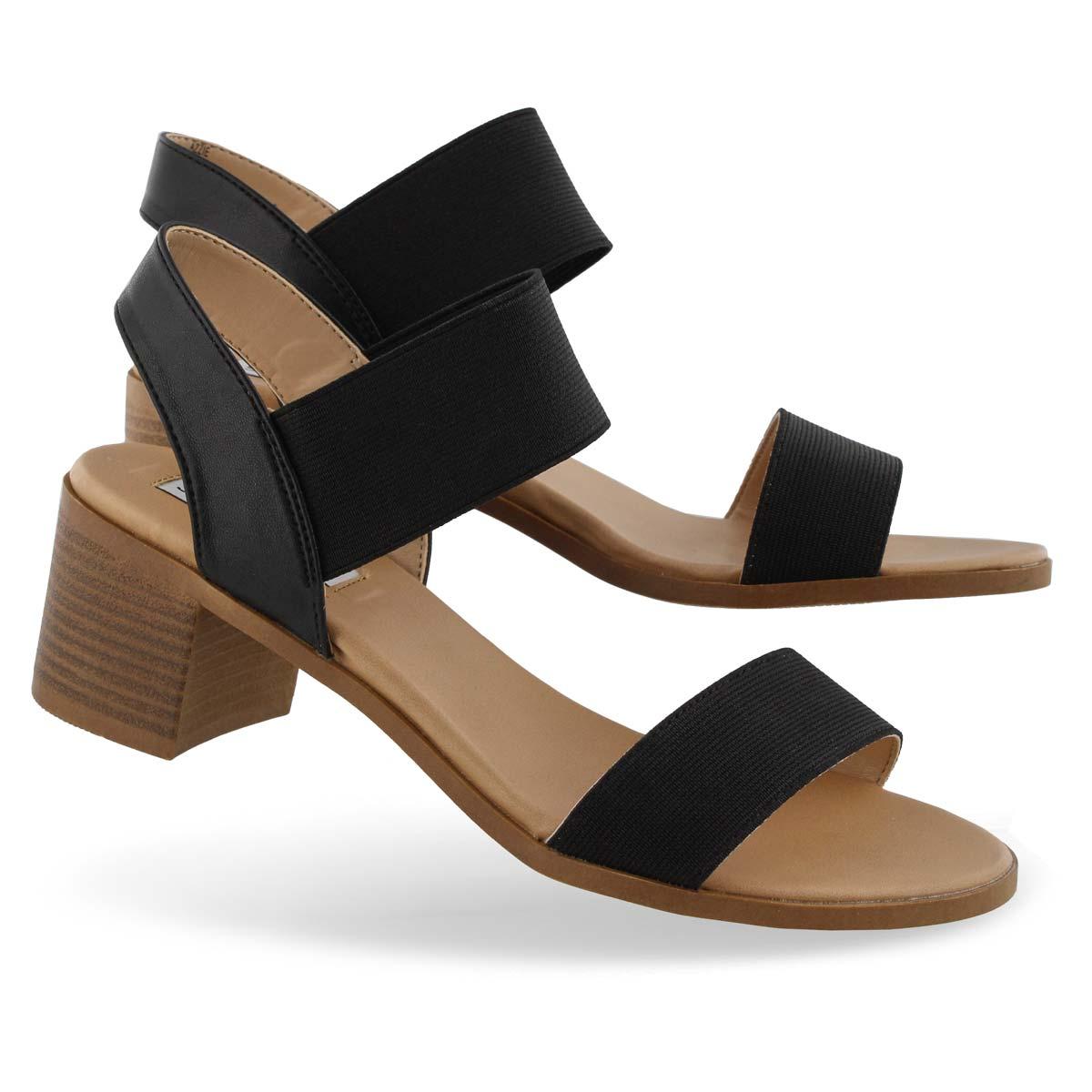 Lds Azzie black dress sandal