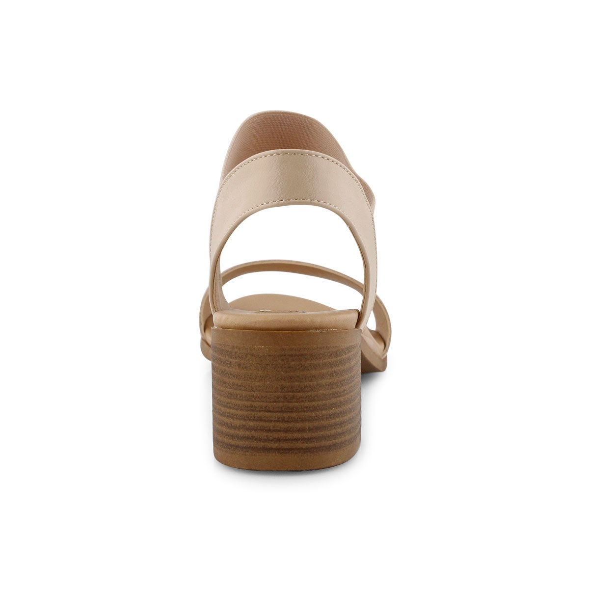 Lds Azzie blush wedge sandal