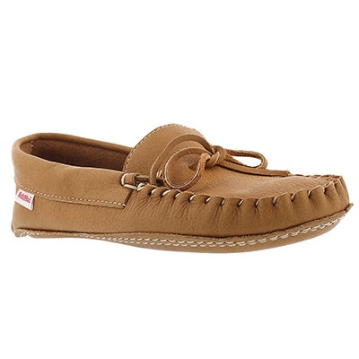 SoftMoc Men's 1131 cork double sole moose hide moccasins
