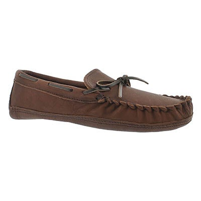 SoftMoc Men's 1471 brown leather moccasins