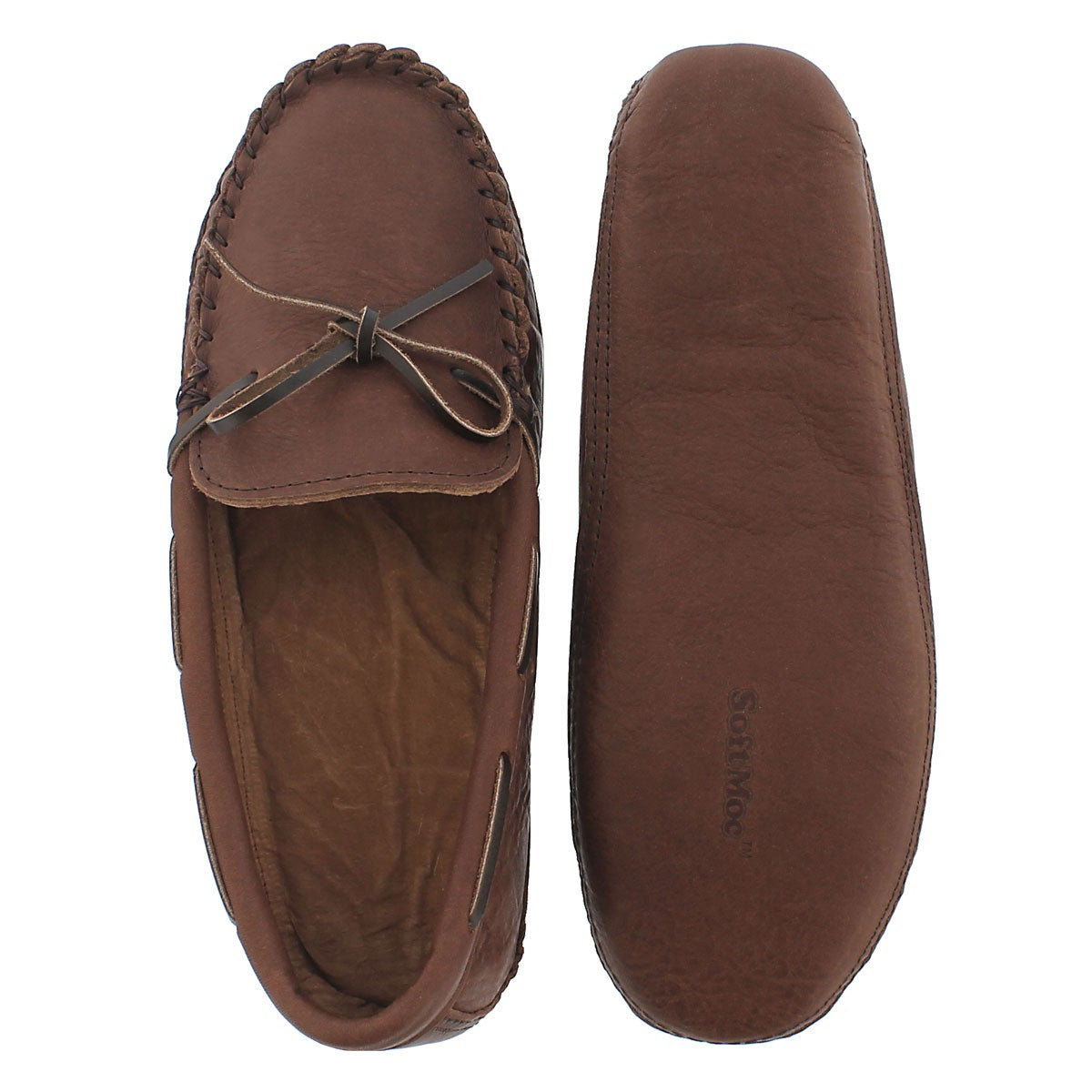 Mns 1471 brown lthr moccasin