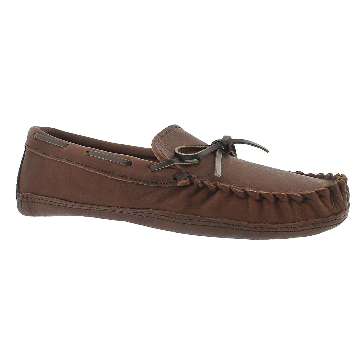 Men's 1471 brown leather moccasins