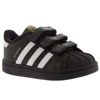 Infs Superstar blk/wht sneaker