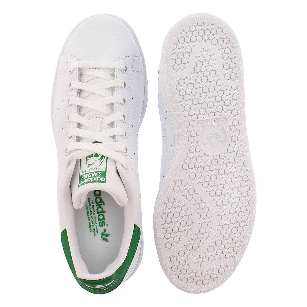 Lds Stan Smith white/green sneaker