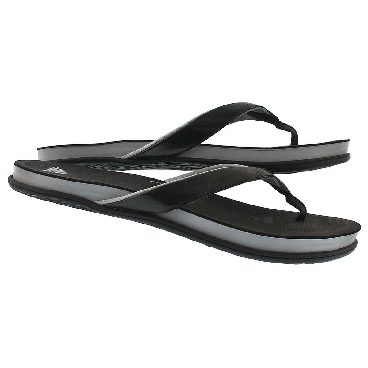 Lds Cloudfoam Ultra Y black thong sandal