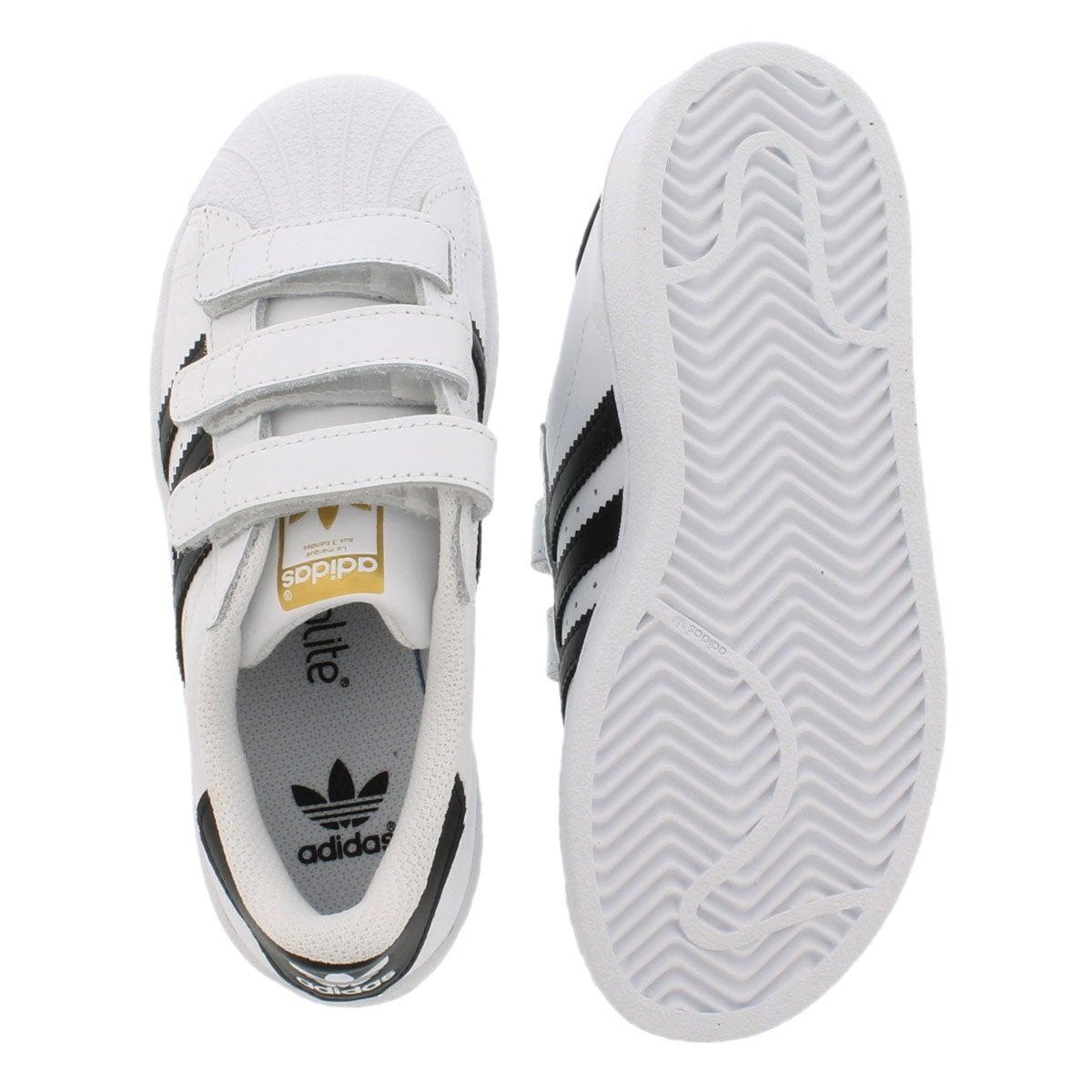 Bys Superstar Foundation wht/blk sneaker