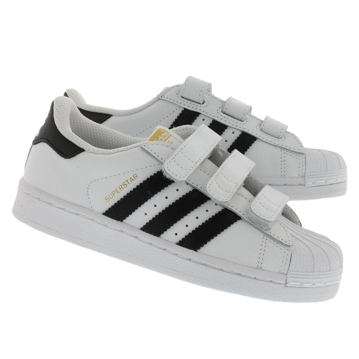 Espadrilles SuperstarCF, blanc/noir, gar