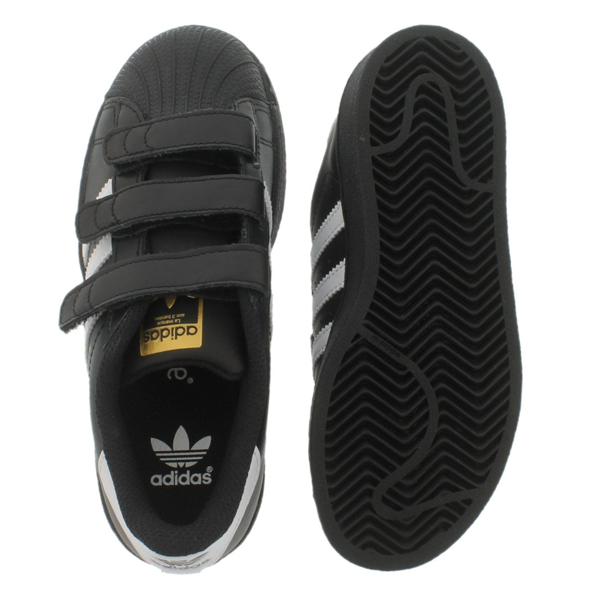 Bys Superstar Foundation blk/wht sneaker
