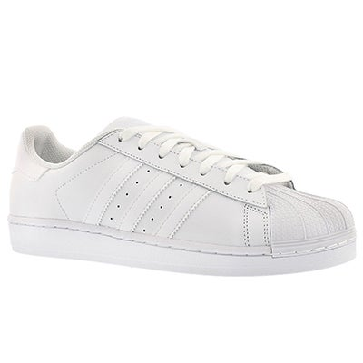 Adidas Men's SUPERSTAR white/white fashion sneakers