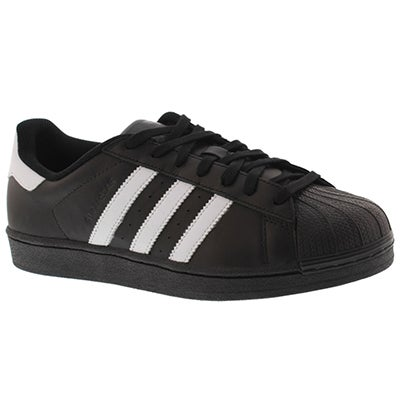 Adidas Men's SUPERSTAR black/white fashion sneaker