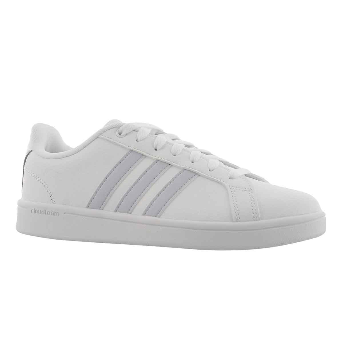 Women's CLOUDFOAM ADVANTAGE white/blue sneakers