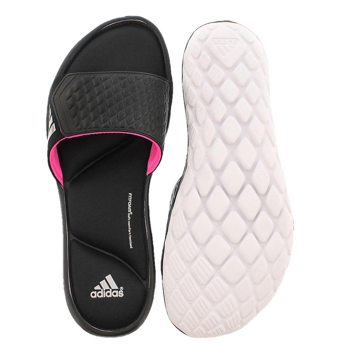 Lds Anyanda Flex Slide black sandal