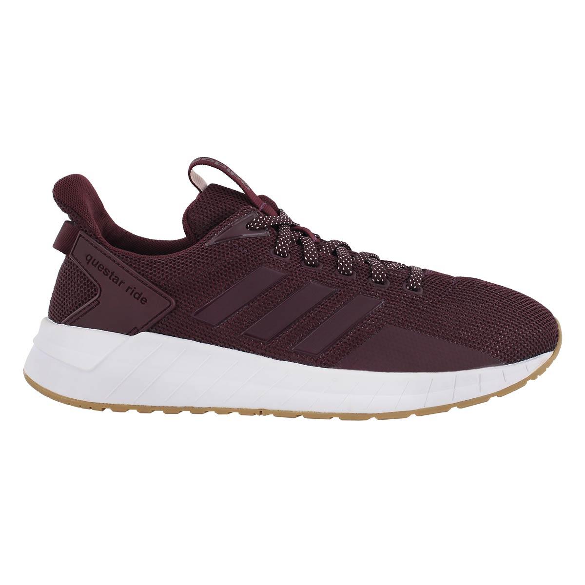 Lds Questar Ride maroon running shoe