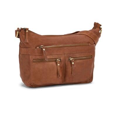 Lds Cora tan shoulder bag