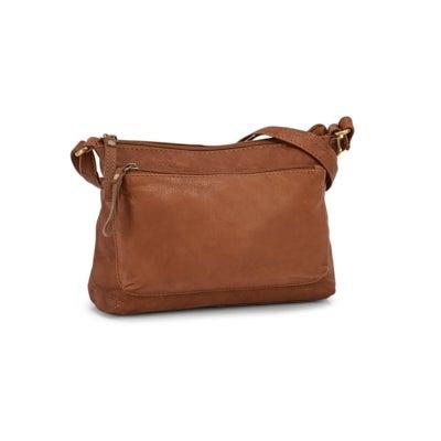 Lds Camile tan shoulder bag