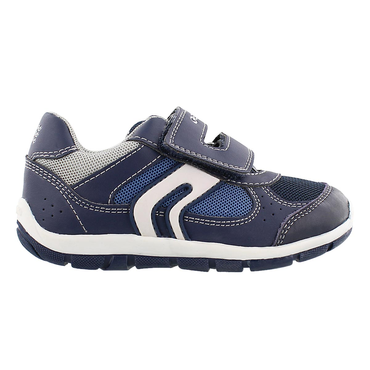Inf Shaax navy 2 double strap sneaker
