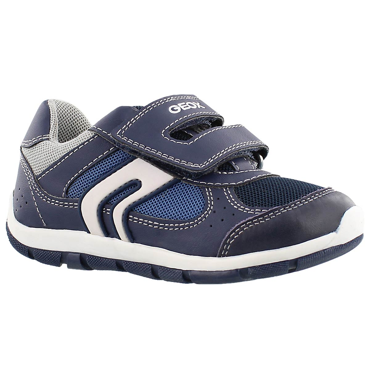 Infants' SHAAX navy 2 double strap sneakers