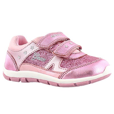 Inf Shaax pink 2 strap sneaker