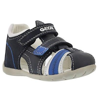 Geox Infants' KAYTAN navy/white fisherman sandals