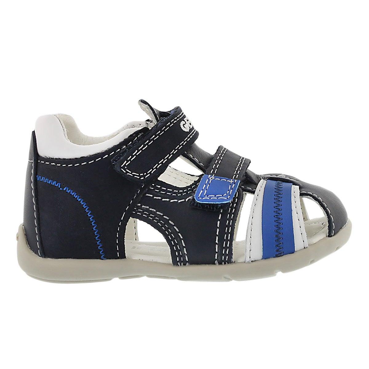Sandale p�cheur Kaytan, marine/blc, b�b�