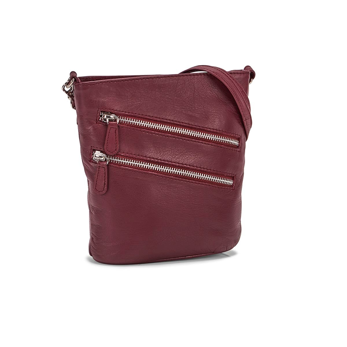 Lds Cassie bayberry crossbody bag