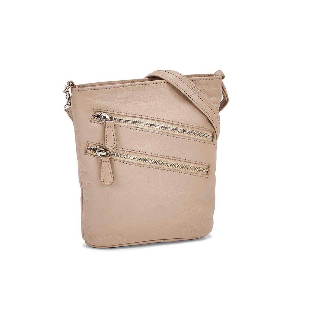 Lds Cassie stone crossbody bag