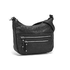 Lds Carrie black crossbody bag