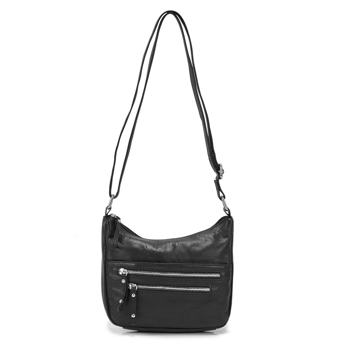 Lds Carrie black crossbody bag