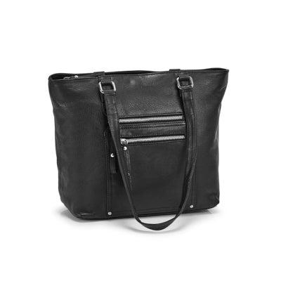 Lds Charlotte black tote bag