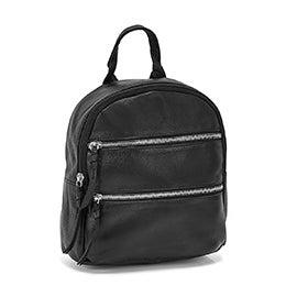 Mini sac à dos mode Shandi, noir, femmes