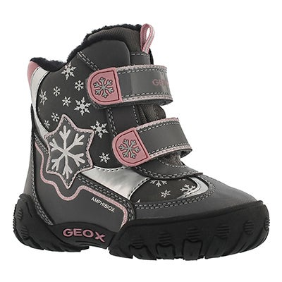 Geox Infants' GULP ABX C dark grey winter boots
