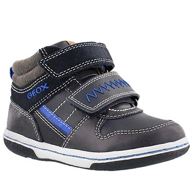 Inf Flick navy high top sneaker