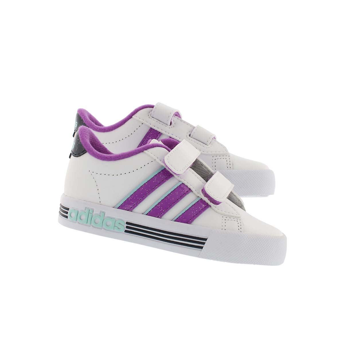 Infs-g Daily Team wht/ppl sneaker