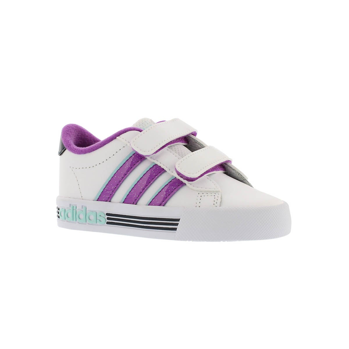 Infants' DAILY TEAM white/purple sneakers