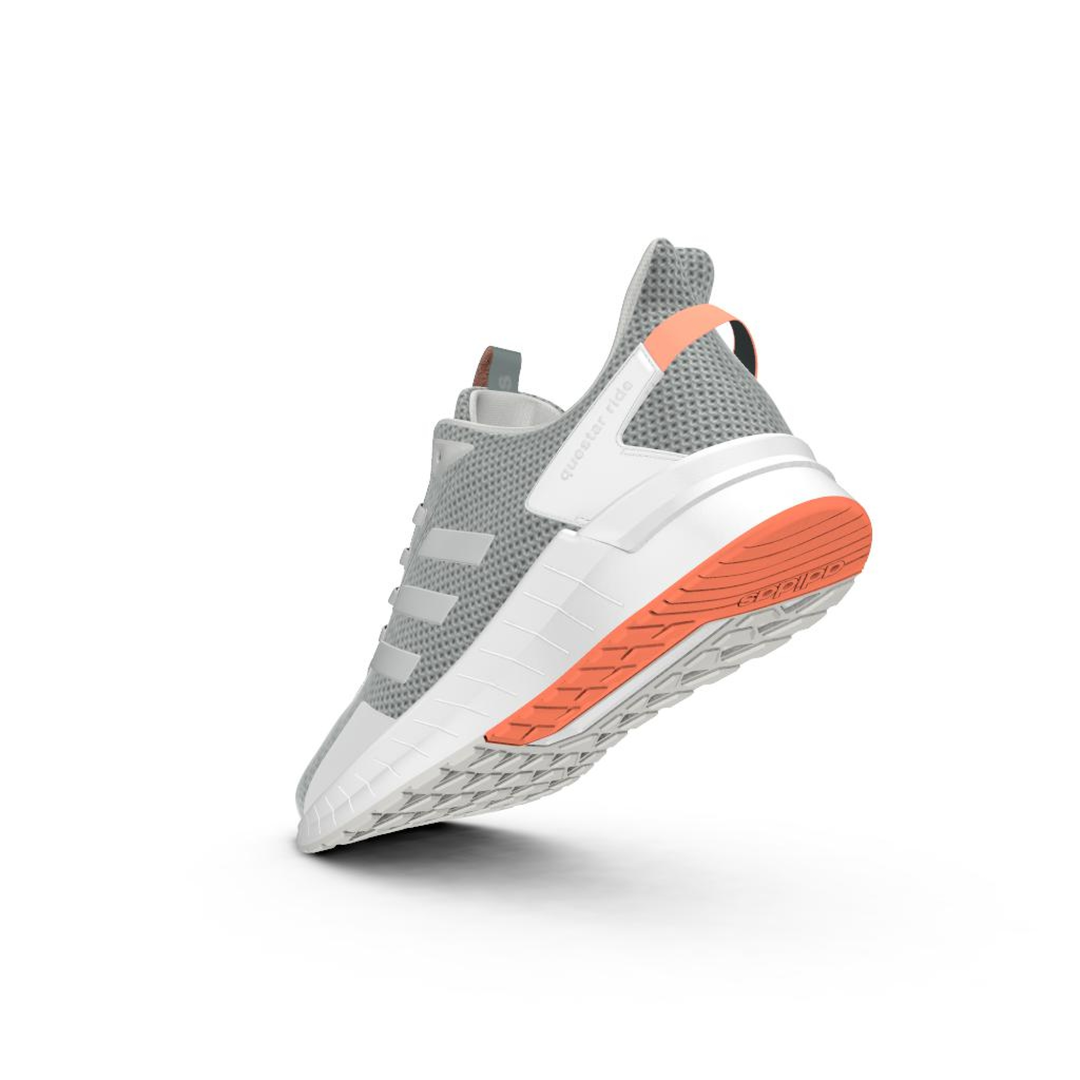 Lds Questar Ride grey running shoe