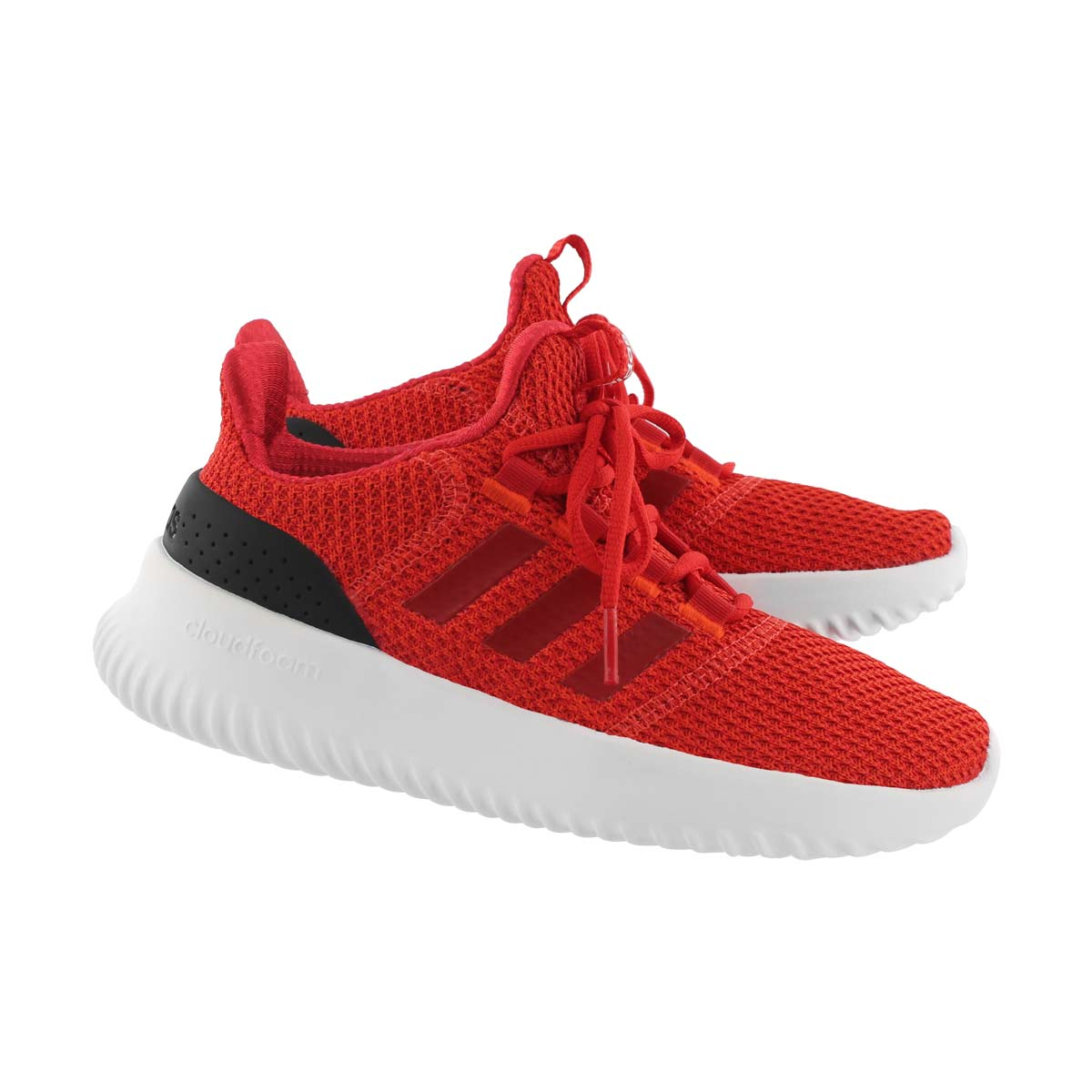 Chlds Cloudfoam Ultimate red/blk runners