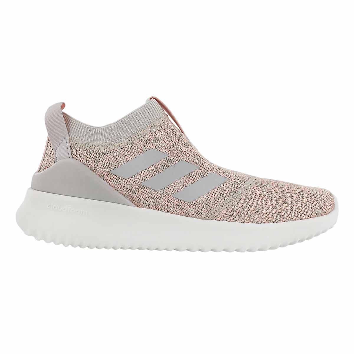 Lds Ultimafusion brn/gry slip on runner