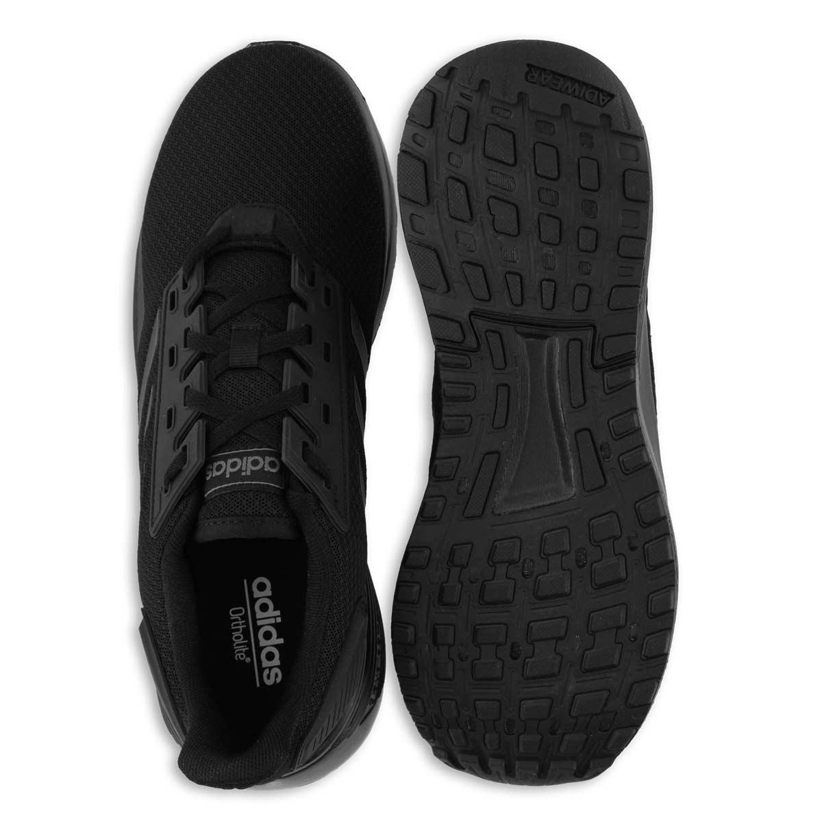 Mns Duramo 9 blk/blk running shoe
