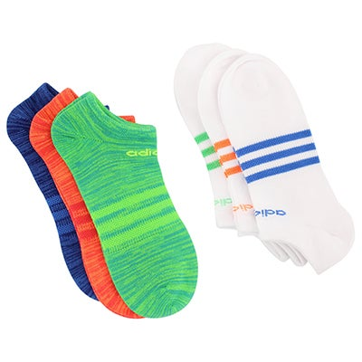 Adidas Women's SUPERLITE multi no show socks - 6 pk