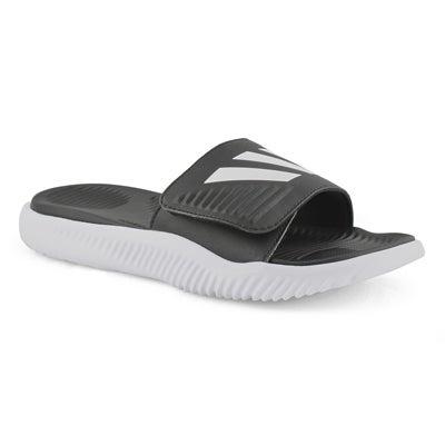 Mns Alphabounce Slide blk/wht sandal
