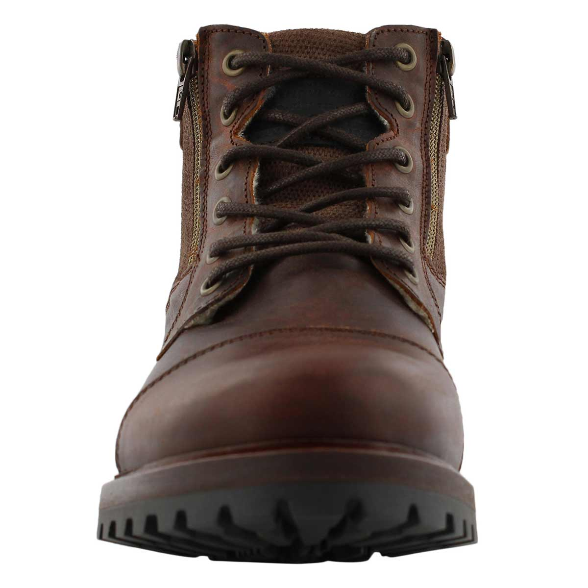 Mns Baden brown lace up ankle boot