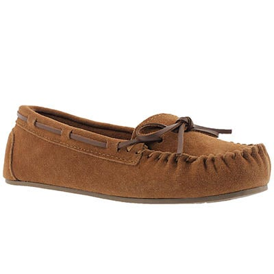 SoftMoc Women's BAE chestnut unlined ballerina moccasins