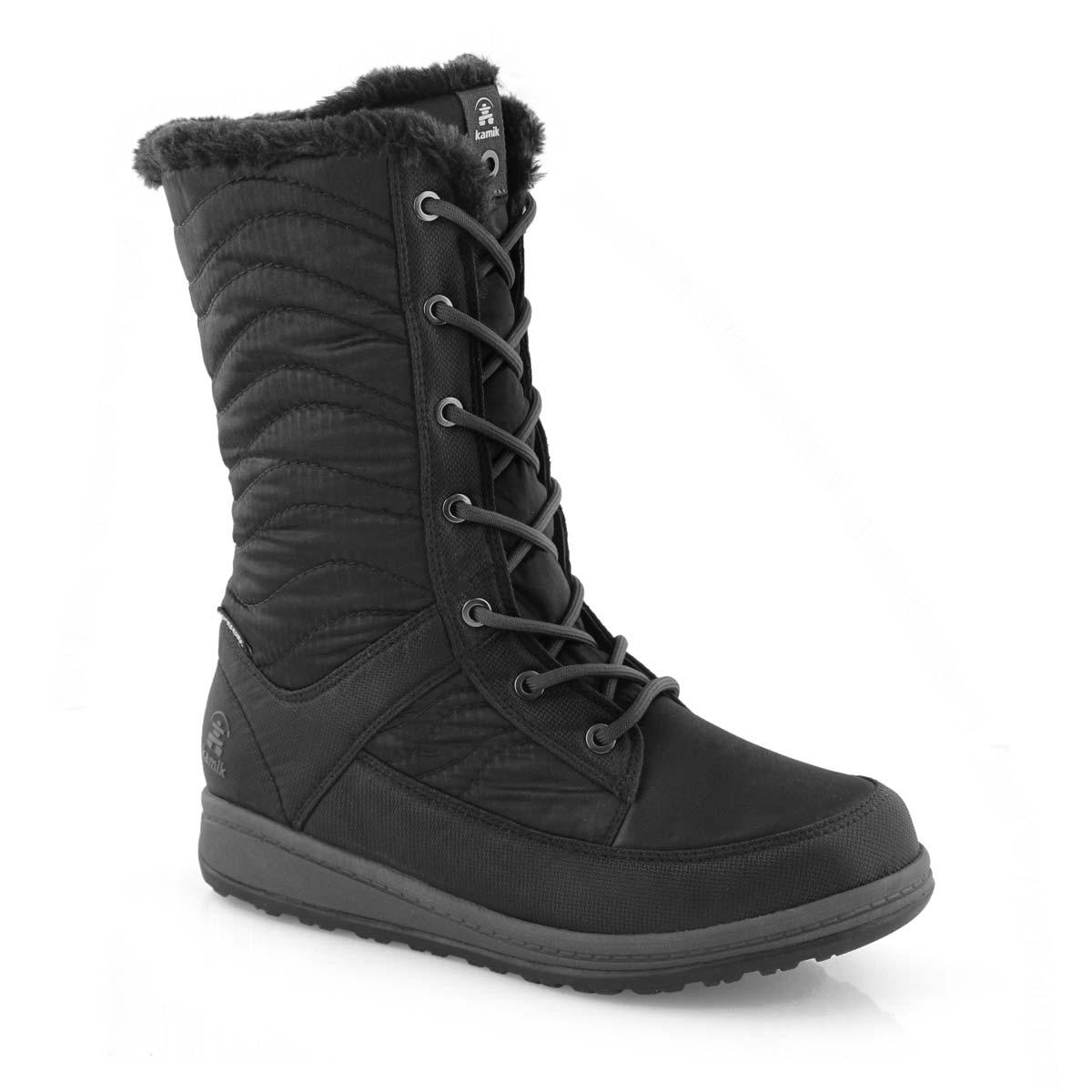WOMENS Kamik Bailee Black Winter Boots New In